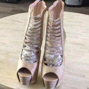 Tiffany/Champion high heels